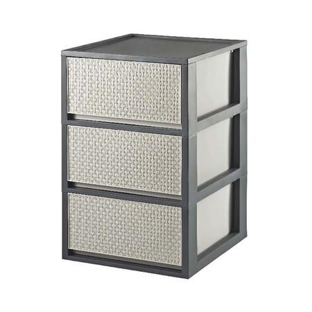 DKW HH-471/3 Saan drawer 3 ชั้น