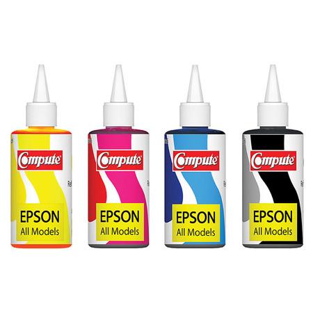 Compute หมึกเติม รุ่น แพ็ก 4 Colour For Epson