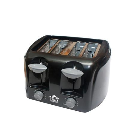 House Worth เครื่องปิ้งขนมปัง HW-T07B 1480W สีดำ