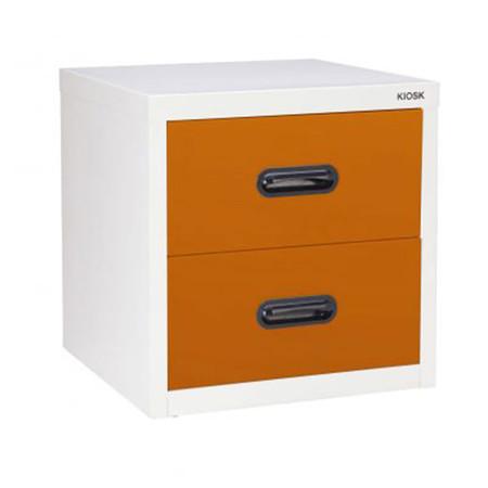 KIOSK-UNI-4 ตู้ 2 ลิ้นชักเล็ก รุ่น Uni-box