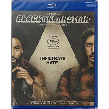 Blu-ray BlacKkKlansman แบล็คแคลนซ์แมน