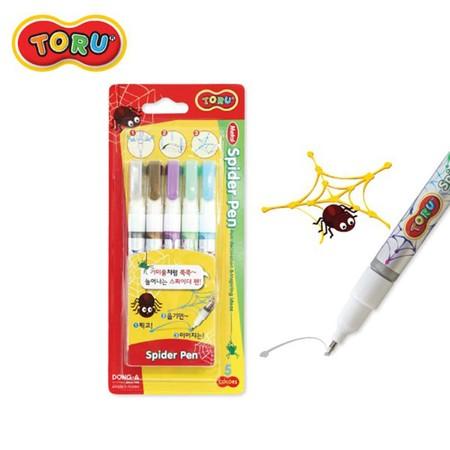 Dong-A Toru Spider Pen ปากกาสไปเดอร์ 5 สี