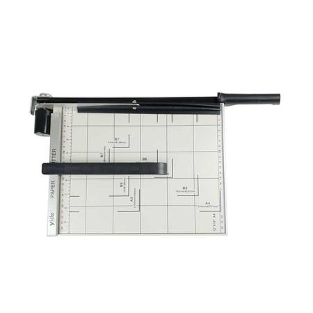 มีดตัดกระดาษ แท่นเหล็กตัดกระดาษ 12x10 นิ้ว