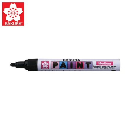 SAKURA Paint Marker ปากกาเพ้นท์หัวใหญ่ 2.0 มม. XPMK-B สีดำ