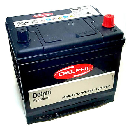 DELPHI แบตเตอรี่ สีดำ รุ่น 70D23L-SMF