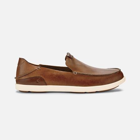 Olukai รองเท้าผู้ชาย 10379-FX19 M-NALUKAI SLIP-ON FOX/BONE 11 US