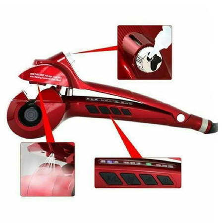 Signature Shop Automatic hair curler Steam