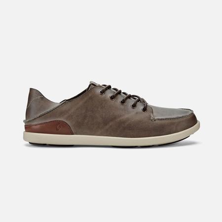 Olukai รองเท้าผู้ชาย 10378-6Z21 M-NALUKAI HUSK/SILT 12 US