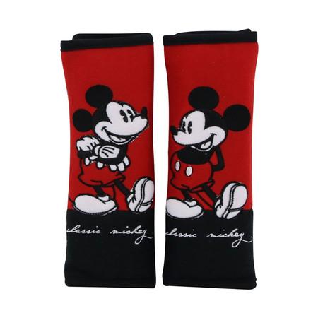 นวมหุ้มเข็มขัดนิรภัย (แพ็กคู่) - Classic Mickey
