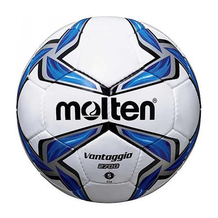 Thai Sports ฟุตบอล Molten หนังพียู (PU) เบอร์ 5 สีขาว/น้ำเงิน/ดำ รหัสสินค้า B2AF5V2700