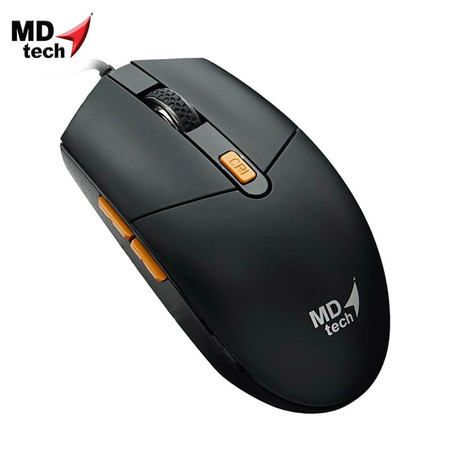 MD-TECH Optical Mouse USB BC-17 Black