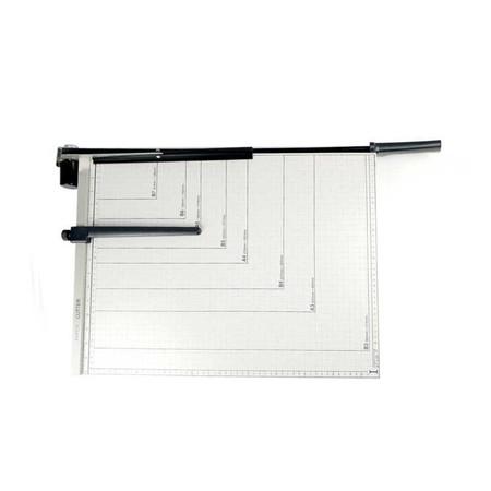 มีดตัดกระดาษ แท่นเหล็กตัดกระดาษ 21x16 นิ้ว