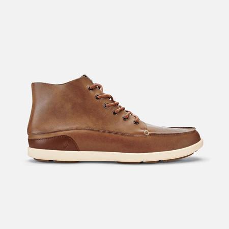 Olukai รองเท้าผู้ชาย 10376-6Z21 M-NALUKAI BOOT HUSK/SILT 12 US
