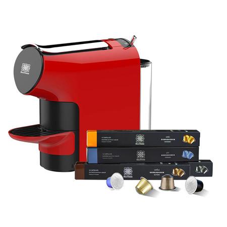 Duchess เครื่องชงกาแฟระบบแคปซูล รุ่น CM6300R พร้อมกาแฟแคปซูล 40 แคปซูล (คละรส) สีแดง