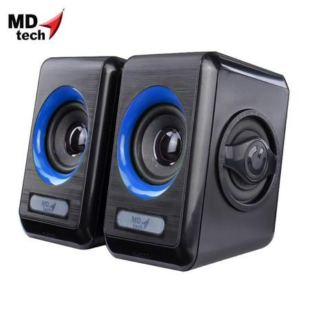 MD-TECH Speaker USB 2.0 SP-11 Black/Blue