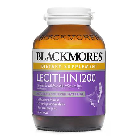 Blackmores Lecithin 1200 ผลิตภัณฑ์เสริมอาหาร บรรจุ 100 แคปซูล