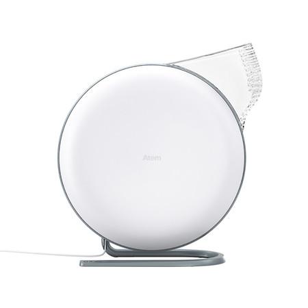 IQAir เครื่องฟอกอากาศส่วนบุคคล รุ่น Atem Desk สีขาว