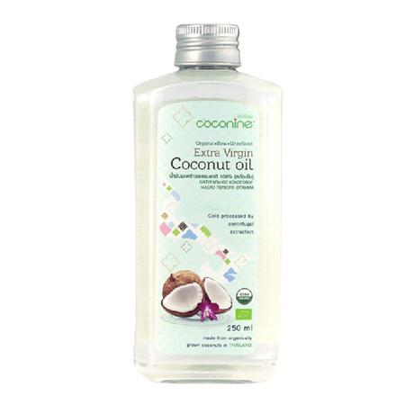 โคโคไนน์ น้ำมันมะพร้าวธรรมชาติ 100% (สกัดเย็น) 250 มล.