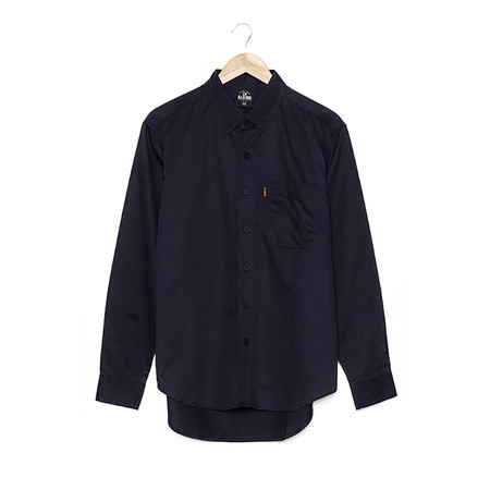 BJ JEANS Shirt BJWL-1112 #Twin Buttoned Flappy Blue