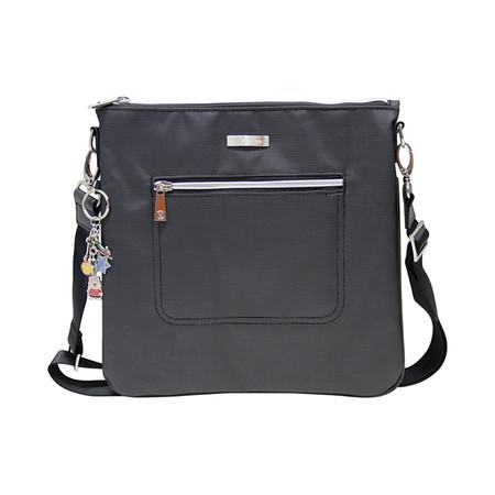 Huskies กระเป๋าสะพายแฟชั่น / กระเป๋าคลัทช์ รุ่น HK02-686 BL สีดำ