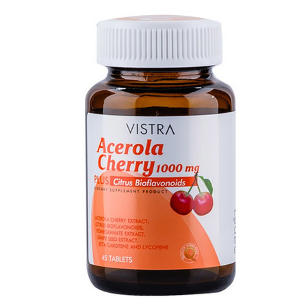 VISTRA Acerola Cherry 1000 มก.