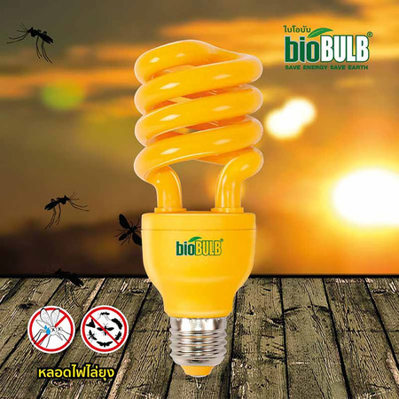 Biobulb หลอดไฟ LED ไล่ยุง 23 วัตต์