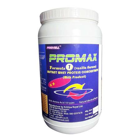 ProMAX Whey Protein formula 1 vanilla flavour จำนวน 1,000 ก.