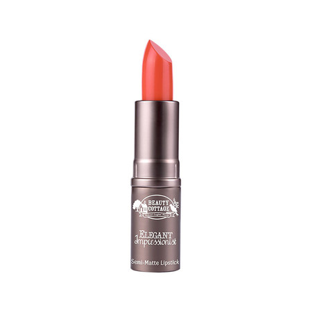 Beauty cottage elegant semi matte lipstick #11 rubiery