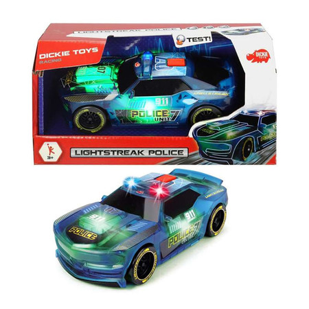 Dickie Toys Lightstreak Police 20 ซม.