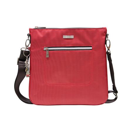 Huskies กระเป๋าสะพายแฟชั่น / กระเป๋าคลัทช์ รุ่น HK02-686 RD สีแดง