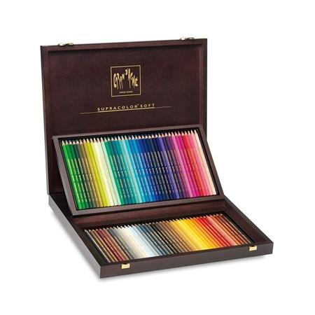 Caran D'Ache ชุดดินสอสีระบายน้ำ Supracolor 80 สี