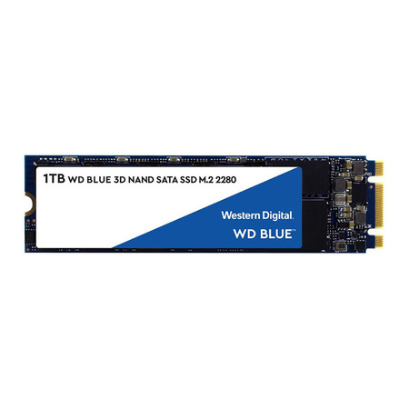 WD SSD Blue M.2 2280 SATA 3(6GB/S) 1 TB (WDS100T2B0B)