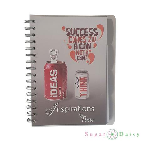 Sugar Daisy สมุดบันทึกสันห่วง Inspriration NoteV513