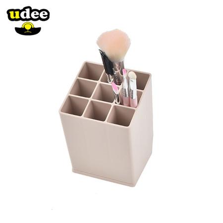 UDEE ช่องเสียบปากกา 9 ช่อง รุ่นสีพาสเทล สีชมพูพาสเทล