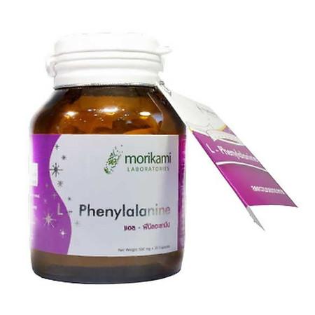 Morikami ซื้อ 1 แถม 1 L-Phenylalanine แอล–ฟีนิลอะลานีน 30 แคปซูล