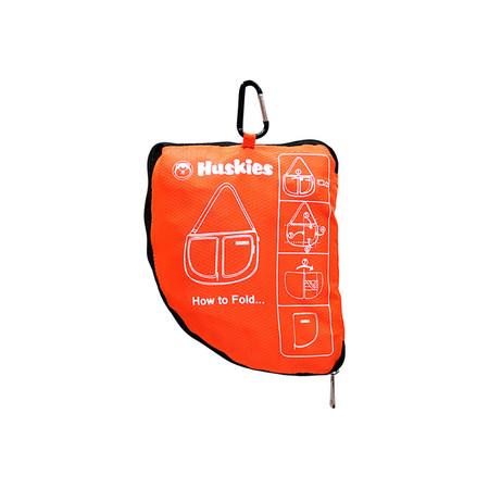 Huskiesกระเป๋าเดินทางพับได้ รุ่น HK 02-674 OR (สีส้ม)