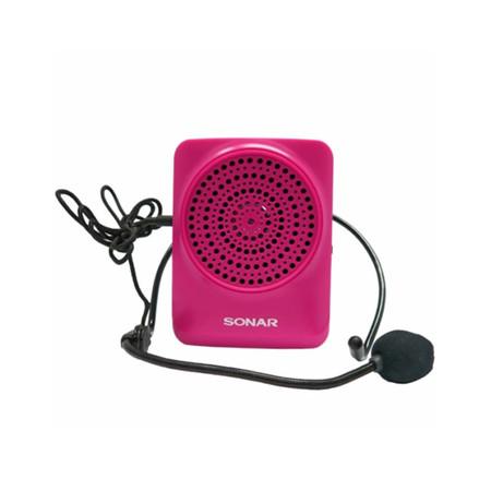 Sonar Portable Microphone Speaker MA-916 Pink