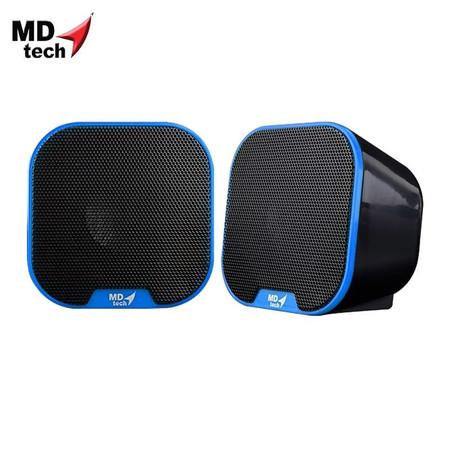 MD-TECH Speaker USB 2.0 SP-13 Blue/Black