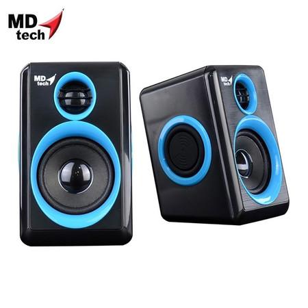 MD-TECH Speaker USB 2.0 SP-17 Black/Blue