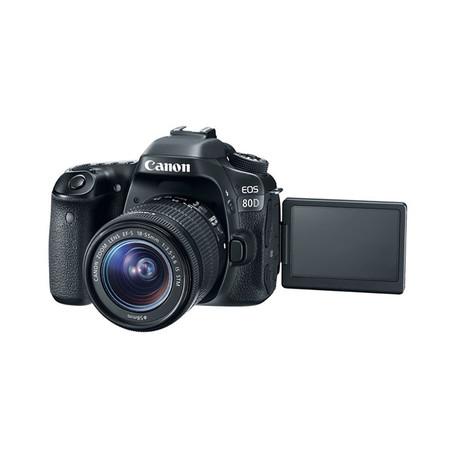 Canon DSLR Camera EOS 80D + Lens 18-135IS USM