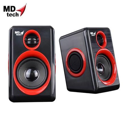 MD-TECH Speaker USB 2.0 SP-17 Black/Red