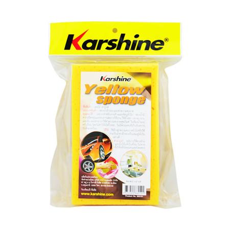 KARSHINE Yellow Sponge ฟองน้ำล้างรถและทำความสะอาด