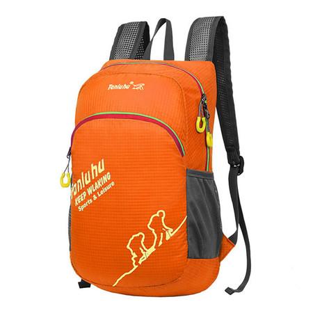 Tanluhu กระเป๋าเดินทางเป้ปีนเขา Backpack สีส้ม