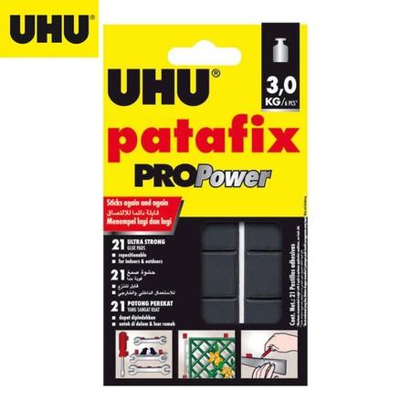 UHU Patafix PROPower กาวดินน้ำมัน สีดำ