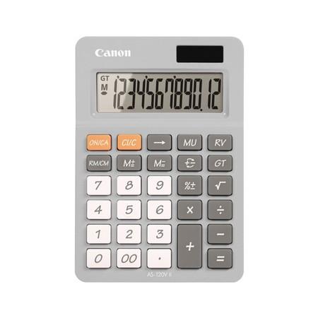 Canon Desktop Calculator รุ่น AS-120V II Smoke Grey