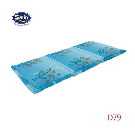Satin ที่นอน 3 ตอน ขนาด 3 x 6.5 ฟุต ลาย D79
