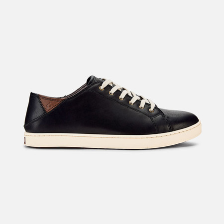 Olukai รองเท้าผู้ชาย 10383-4019 M-KAHU 'EONO BLACK/BONE 9 US