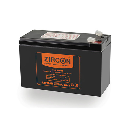 Zircon Battery 12V-9Ah