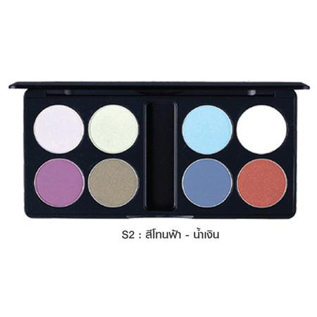 MTI Eyeshadow Palette Sign Collection 13.6 ก. #S2 สีโทนฟ้า-น้ำเงิน