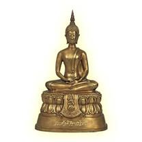 พระบูชาสมเด็จศิริราชร้อยปี รมดำอ่อนใบมะขาม 5 นิ้ว
